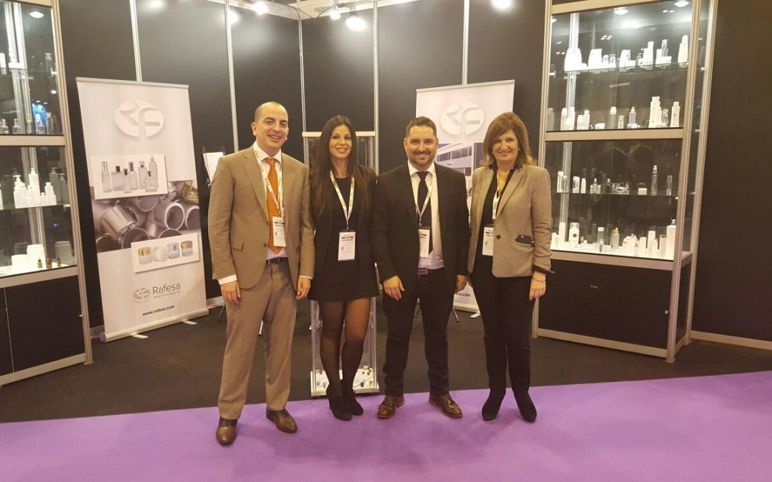 RAFESA participa en Packaging Innovations, el punto de encuentro de packaging en Madrid
