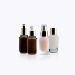 Rafesa Sandra Cosmetic Glass Bottles
