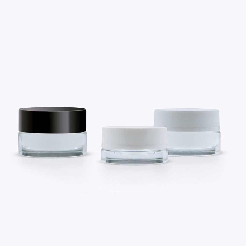 Rafesa Giotto Cosmetic Glass Jars