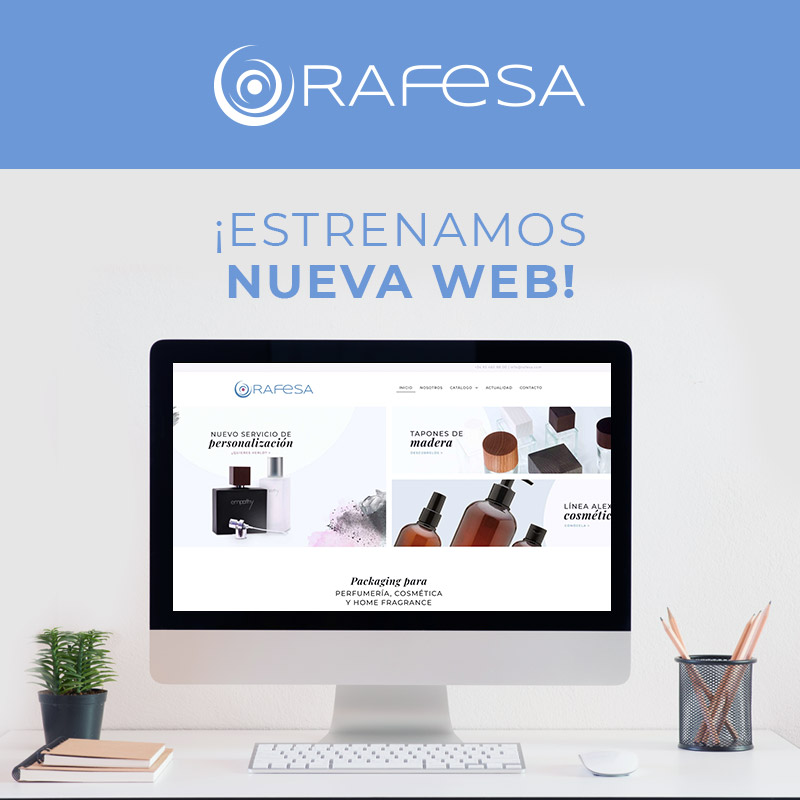 Estrenamos nueva web Rafesa packaging