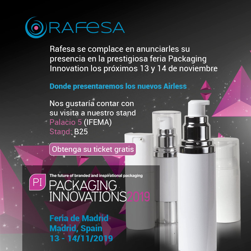 RAFESA presente en Packaging Innovations