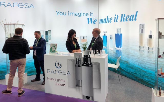 RAFESA presenta la nueva gama AIRLESS en la feria Packaging Innovations
