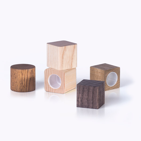 Tapones madera interior compostable